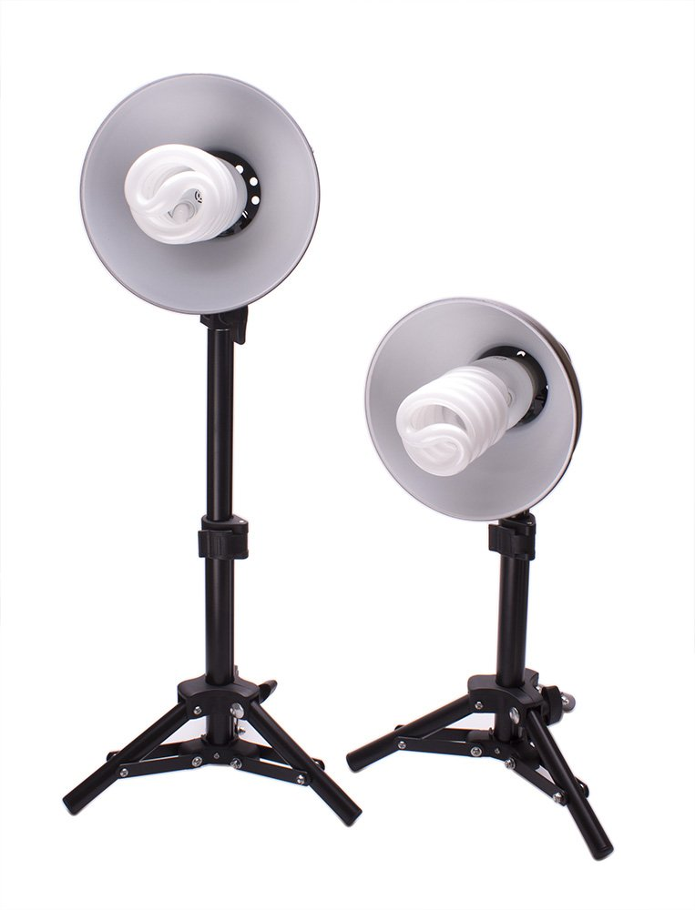 Fovitec StudioPRO Product Photography Cube White Table Top Cube Lighting Tent Kit, 20'' by Fovitec