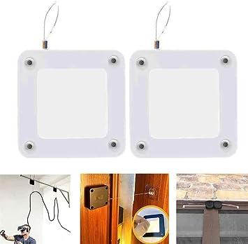 Punch-free Automatic Sensor Door Closer Portable Home Office Doors Off 800g tens