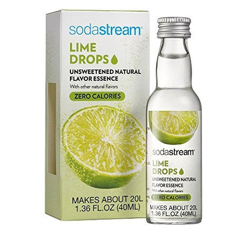 SodaStream Fruit Drops, Lime, 1.36 fl oz, Pack of 1