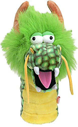 Oversized Green Dragon Golf Head Cover