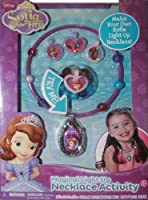 Disney Princess Sofia the First Magical Light Up Amulet Necklace Activity Kit