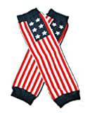 "AMERICAN FLAG Baby Leggings/Leggies/Leg Warmers for Cloth Diapers - GIRLS OR BOYS & ONE SIZE by ""BubuBibi"