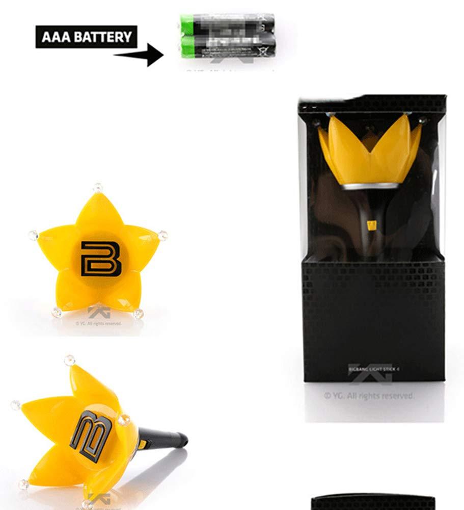 JUN GUANG The Big Bang Bigbang Stick Limited Concert Lamp Official Cheer penlight Ver4 Crown Support Light Official Support penlight Ver4