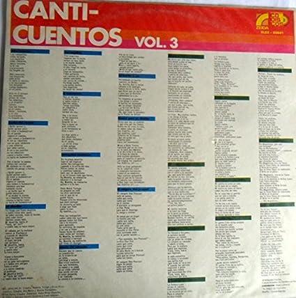 LP CANTI-CUENTOS VOL3 CODISCOS - LP CANTI-CUENTOS VOL3 CODISCOS - Amazon.com Music