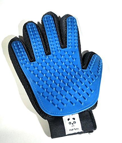 - MakPets. Pet Grooming Brush Glove for Dogs & Cats