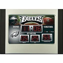 Philadelphia Eagles Scoreboard Desk Clock