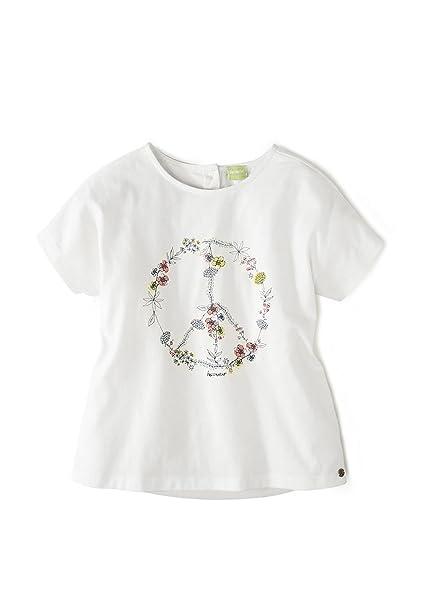 hessnatur Camiseta de algodón orgánico puro Weiß Bedruckt 92: Amazon.es: Ropa y accesorios