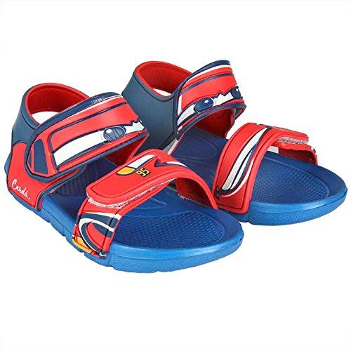 Cars Sandalias de Vestir de Goma Para Niño Azul Azul Claro