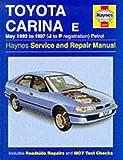 Toyota Carina E Service and Repair Manual (Haynes Service and Repair Manuals)