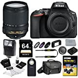 Nikon D5600 DSLR Camera with 18-140mm Lens + Nikon Case + 64GB Card and Bundle