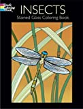 Insects Stained Glass Coloring Book, Jan Sovak, 0486430472
