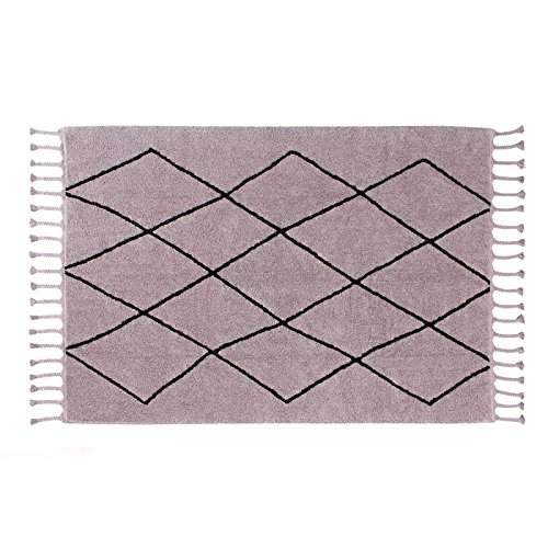 Lorena Canals Bereber Wood Rose C-Ber Washable Rugs by Lorena Canals