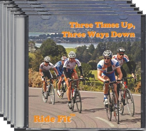 Ride Fit California Indoor Cycle Training DVD Combo Pack -