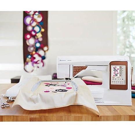 Husqvarna 7393033081591 - Máquina de coser topaz 50 con unidad de bordado   Amazon.es  Hogar fe1b309c633