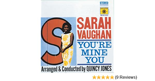 Youre mine you by sarah vaughan on amazon music amazon stopboris Image collections
