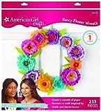 EK Success American Girl Crafts Wreath Kit, Cecile and Marie-Grace Paper Flower