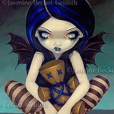 Jasmine Becket-Griffith art BIG print h.p lovecraft SIGNED Innsmouth Mermaid