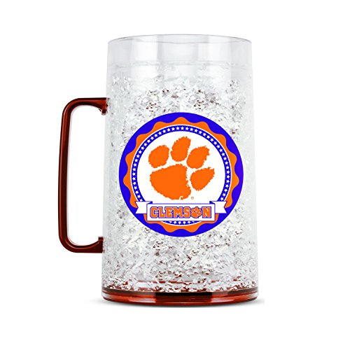 NCAA Clemson Tigers 38oz Crystal Freezer Monster Mug