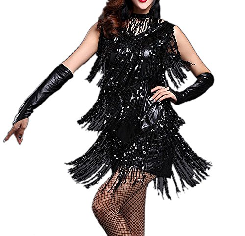 [Long Fingerless Gatsby Flapper Bridal Dance Costume Hand Gloves Accessories] (Gatsby Outfits)
