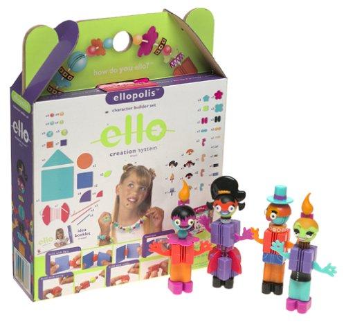 ello 110 Pc Character builder set Mattel 4185277 Ellopolis