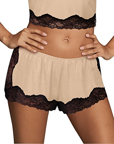 Cami Tap Pant - Maidenform Womens Casual Comfort Lounge Collection Tap Pant, L, Latte Lift
