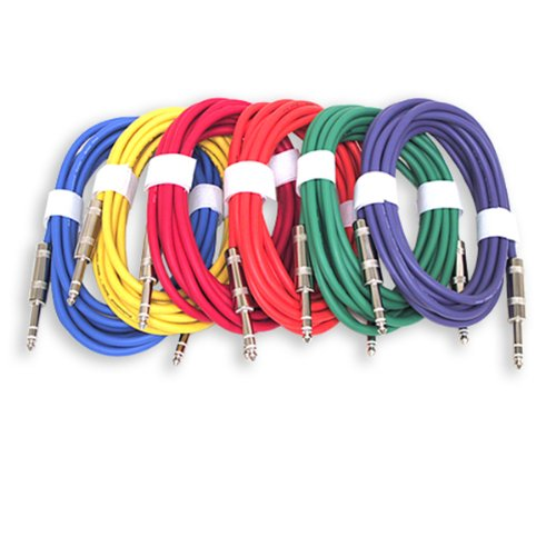 GLS Audio 12ft Patch Cable Cords - 1/4