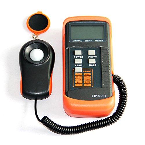 LONN Portable Multifunctional Digital Light Lux Meter and Illuminance Measurement Photometer Luxmeter Light Illuminometer