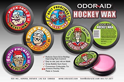 - Odor-Aid Puck N' Awesome Hockey Stick Wax
