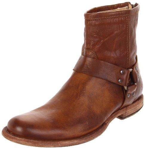 Mens Frye Philip Harness Boots Brown - Brown (cog)