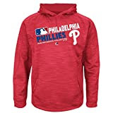 MLB Youth Authentic Collection Team Choice Streak Fleece Hoodie (Youth Small 8, Philadelphia Phillies)