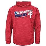 MLB Youth Authentic Collection Team Choice Streak Fleece Hoodie (Youth Xlarge 18/20, Philadelphia Phillies)