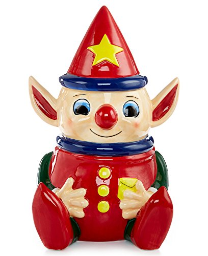- Macy's 90th Thanksgiving Day Parade Collectible Limited Edition 'Kit the Elf' Cookie Jar