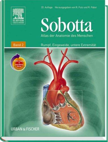 Sobotta, Atlas der Anatomie des Menschen Band 2 <br>mit ...