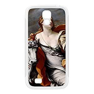 Europa and the Bull by Guido Reni White Silicon Rubber Case for Galaxy S4 by Painting Masterpieces + FREE Crystal Clear Screen Protector