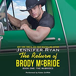 The Return of Brody McBride Hörbuch