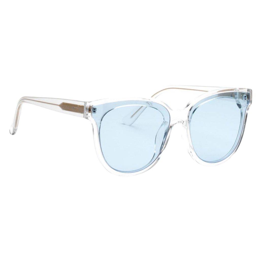 Prettyia Women Fashion New Vintage Retro Round Men Clear Lens Sunglasses
