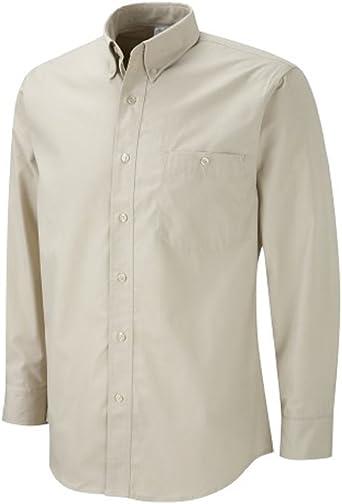 Scout Shops Ltd - Camisa - con botones - Manga Larga - para hombre