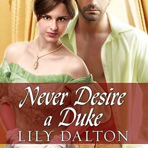 Never Desire a Duke Audiobook