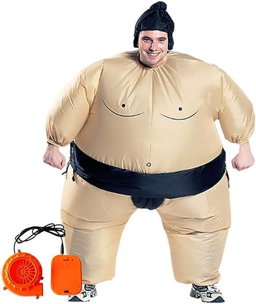 Zhoujinf disfraz inflable, traje de luchador de sumo, traje de ...