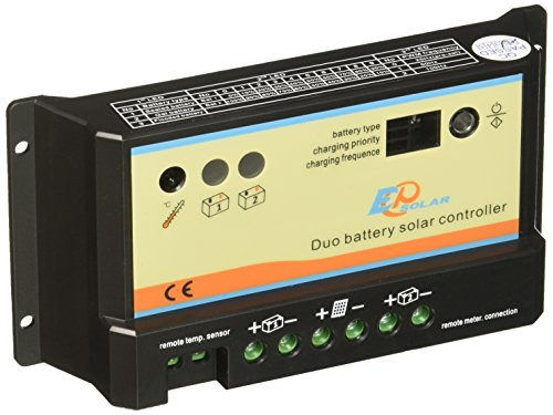Renogy 10 Amp PWM Dual Battery Charge Controller by Renogy Solar