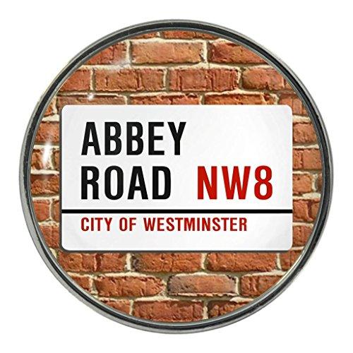 Abbey Road Sign Metal Fridge Magnet