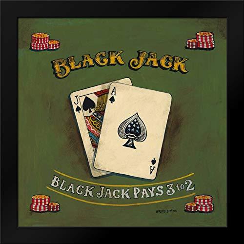 - Blackjack Framed Art Print by Gorham, Gregory