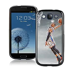 High Quality Samsung Galaxy S3 I9300 Case ,Cool And Fantastic Designed Case With Oklahoma City Thunder Russell Westbrook 6 Black Samsung Galaxy S3 I9300 Cover
