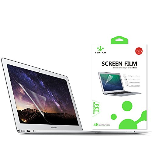 - LENTION Screen Protector for 2009-2017 MacBook Air (13-inch, Previous Generation), Model A1369/A1466, HD Clear Protective Screen Film with Hydrophobic Oleophobic Coating