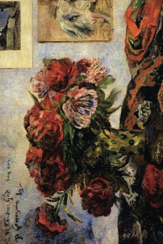 """Download """"The Vase of Peonies"""" by Paul Gauguin - 1884: Journal (Blank / Lined) (Art of Life Journals) pdf epub"""