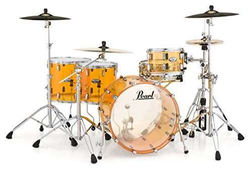 Pearl Crystal Beat CRB524FP/C732 4 Piece Shell Pack, Tangerine Glass