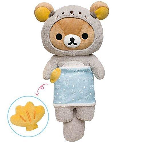 Relaxed theme sea otter toy: Rilakkuma (Otter Costume)
