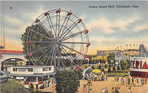 Coney Island Mall Cincinnati, Ohio, OH, USA Postcard Post - Oh Mall Cincinnati