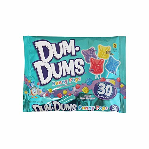Dum Dums Easter Bunnies Pops 10.5 oz. Bag