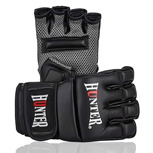 Hunter MMA Gloves, Training Boxing Gloves, Sparring Gloves, Punching Bag Gloves, Kick Boxing Gloves